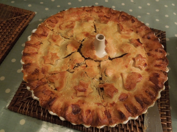 Image of cooked game pie