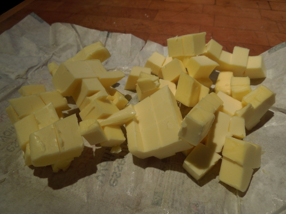 Image of cubed butter