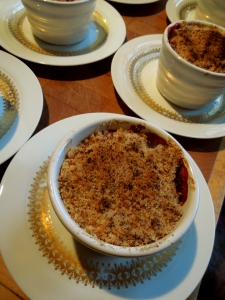 Image of cooked crumbles