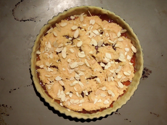 Image of topping on tart