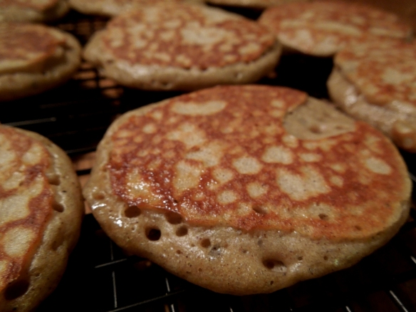 Image of cooked blinis