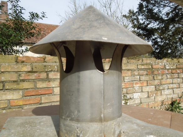 Image of the chimney vent on the barrel