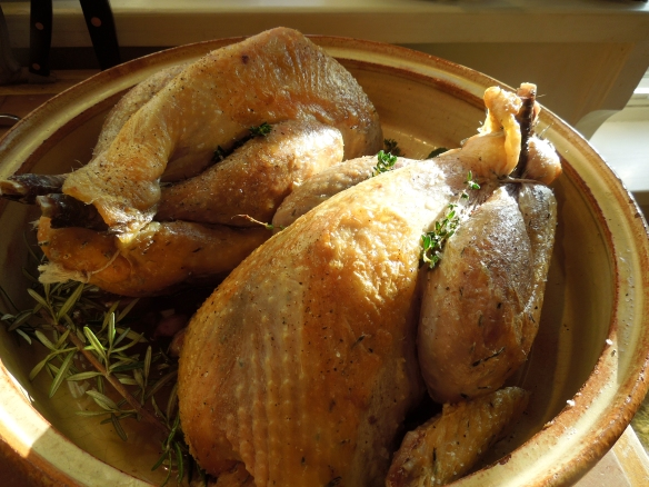 Image of browned guinea fowl