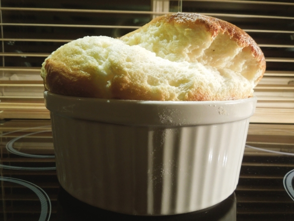 Image of cheese souffle