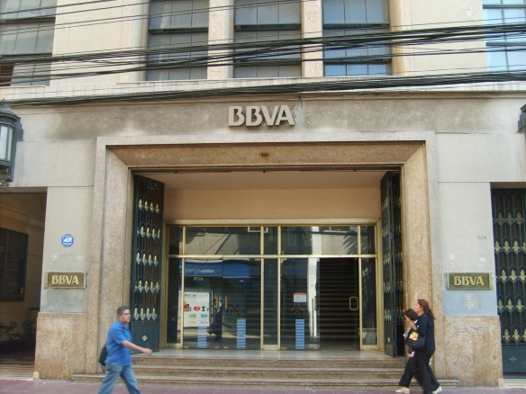 Image of a BBVA branch