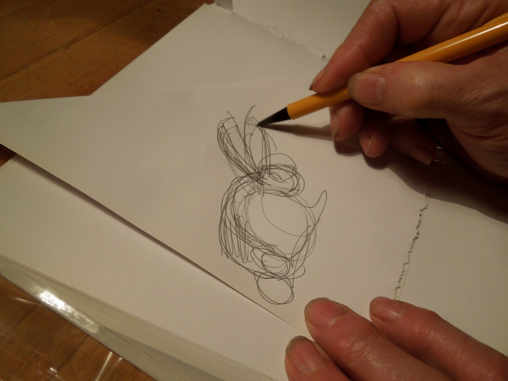 Image of rabbit sketch