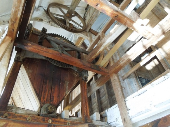 Image of the wheelhouse roof