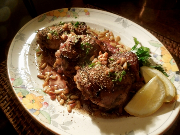 Image of Chicken with Sumac, Za'atar and Lemon