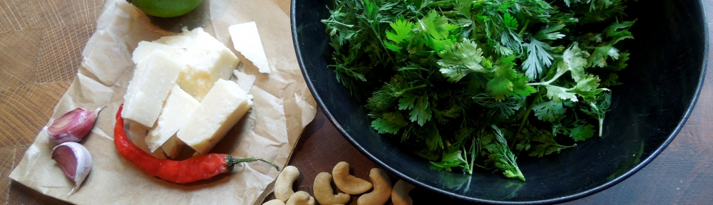 Image of pesto ingredients