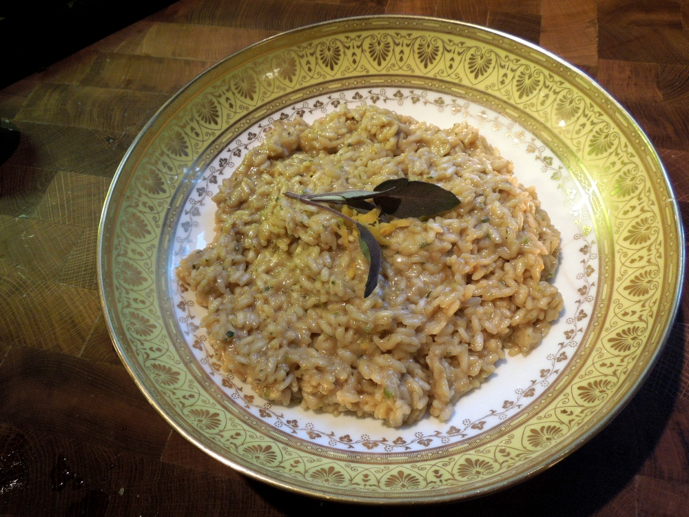 Image of risotto with lemon