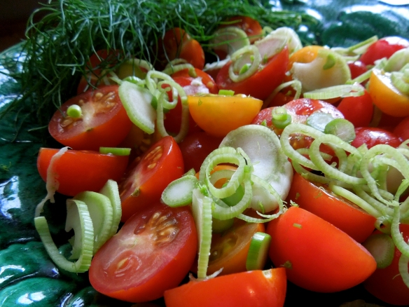 Image of tomato and fennel salad