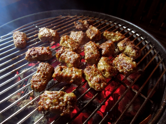 Image of Ćevapčići on the barbecue