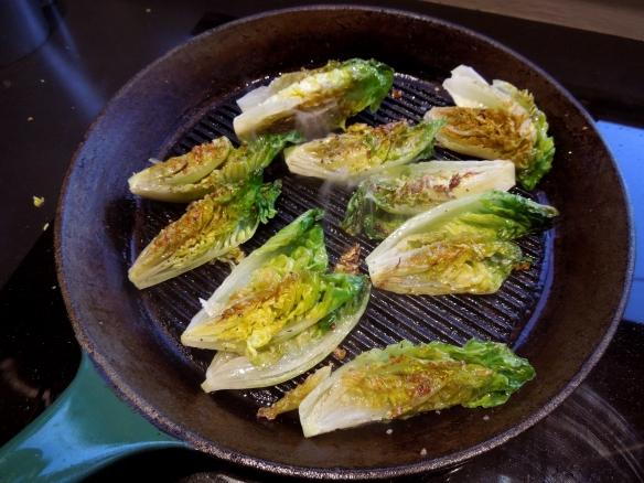 Image of griddled lettuce