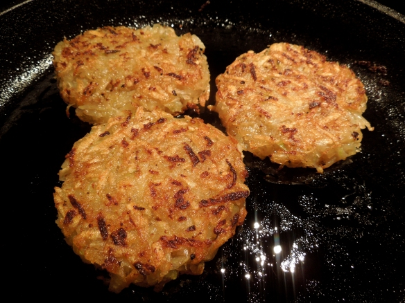 Image of potato and kohlrabi rosti