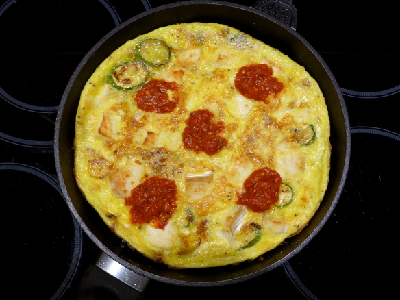 Image of cooked omelette