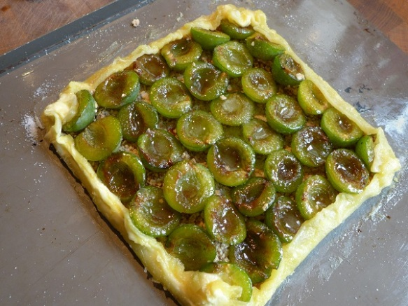 Image of salvaged tart