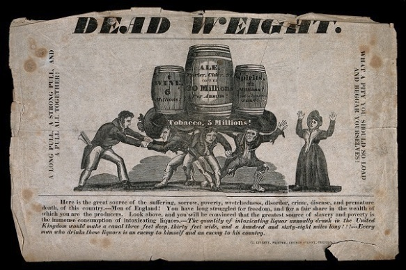 Image of temperance poster