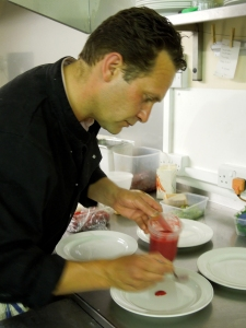 Image of Carl in the kitchen at Shillingford's