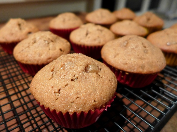 Image of cupcakes cooling
