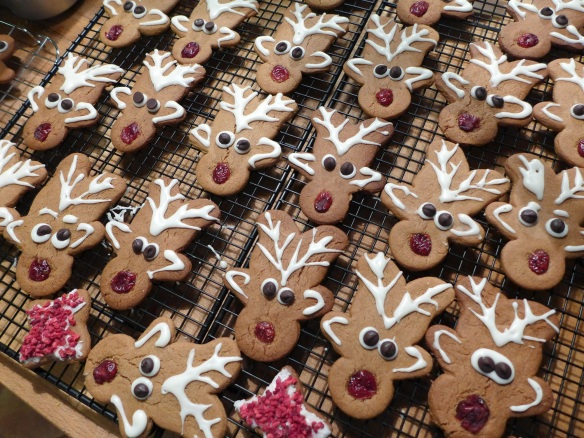 Image of gingerbread reindeer