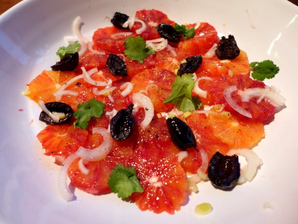 Image of blood orange salad
