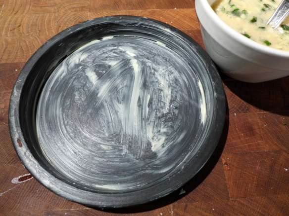 Image of buttered tin
