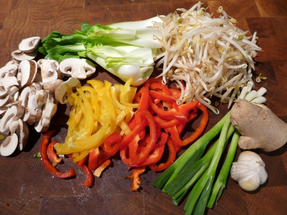 Image of vegetable ingredients