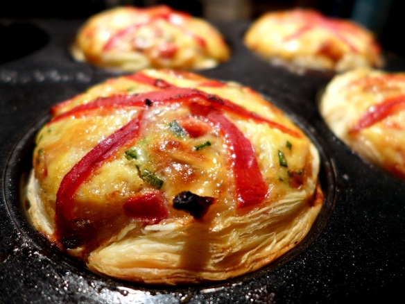 Image of tarts in tin