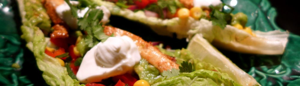Image of lettuce leaf tacos