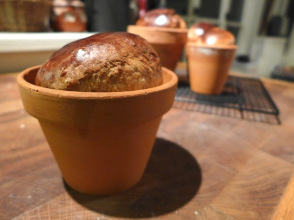 Image of Italian Easter Flower Pot Bread