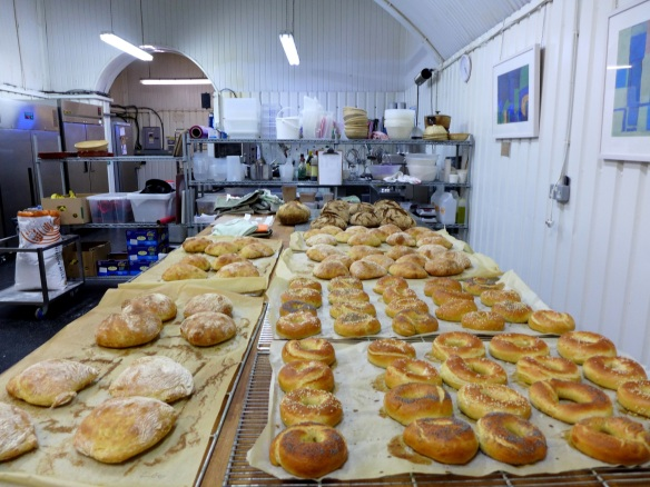 Image of some of the breads made by the class