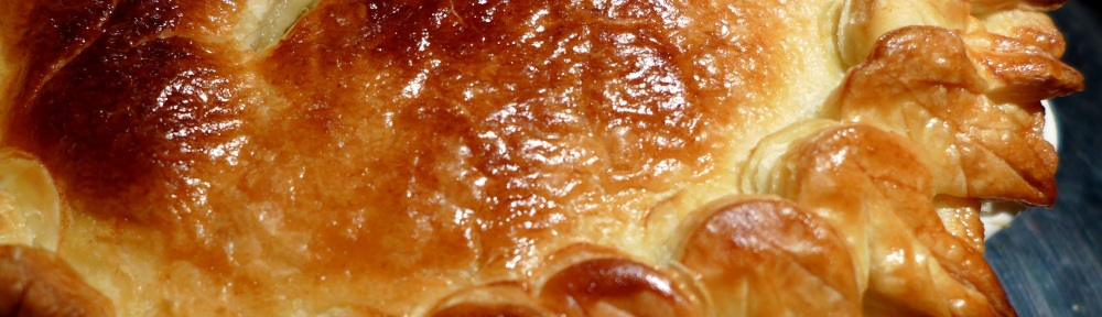 Image of cooked sausage pie