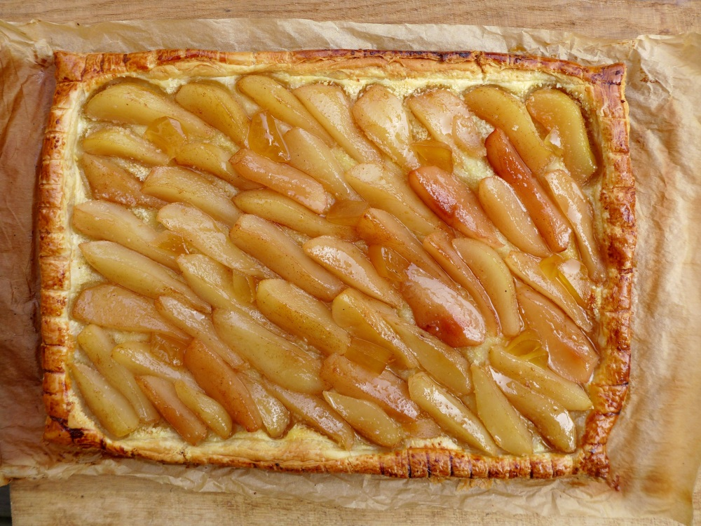 Image of glazed tart
