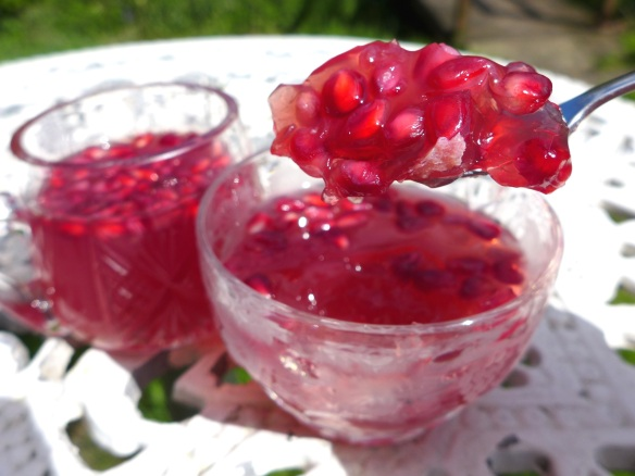 Image of Rhubarb and Pomegranate Jelly