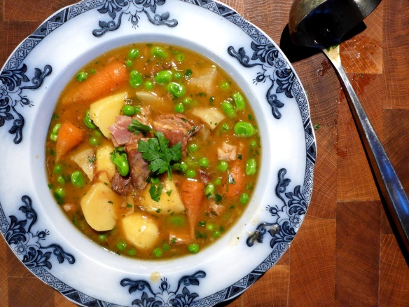Image of navarin of lamb, served