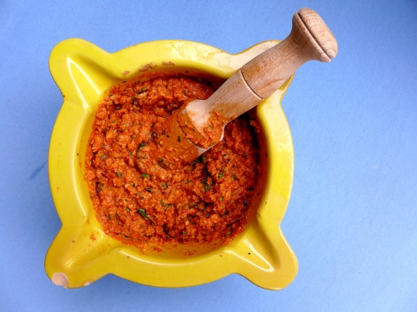 Image of romesco sauce