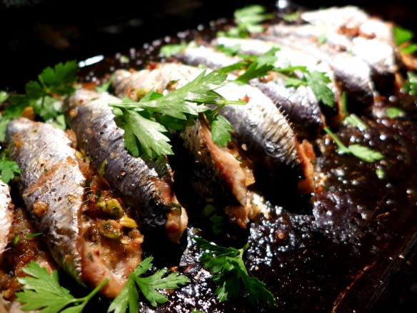 Image of baked sardines