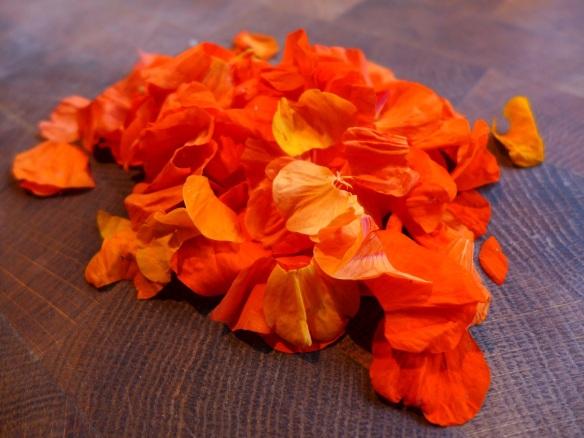 Image of nasturtium petals