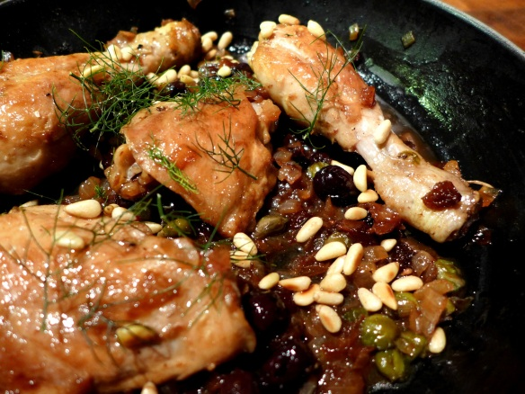 Image of chicken agrodolce
