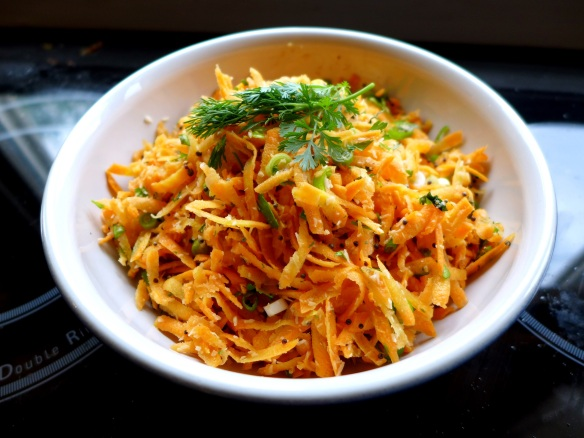 Image of carrot and coconut salad