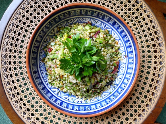 Image of courgette combo salad