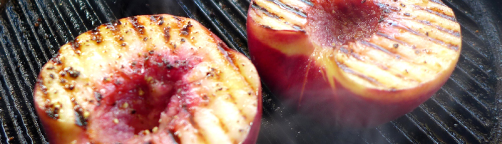 Image of griddled peaches