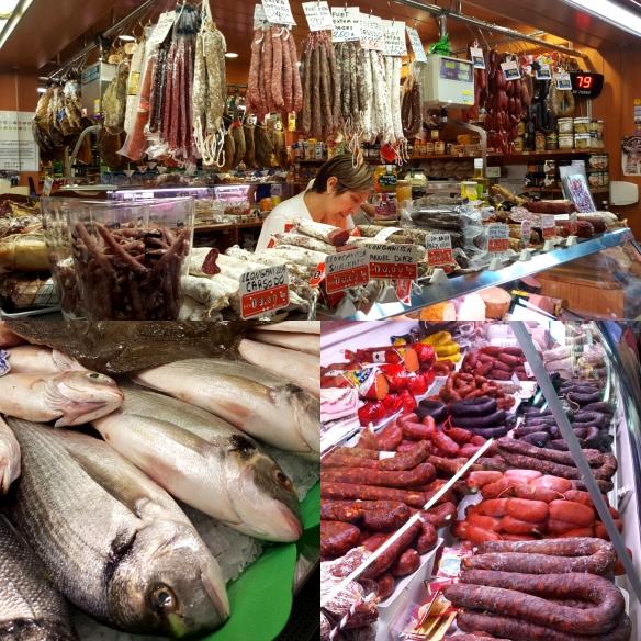 Image of market scenes, Palafrugell