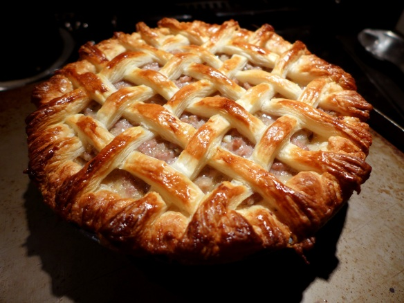 Image of latticed pie