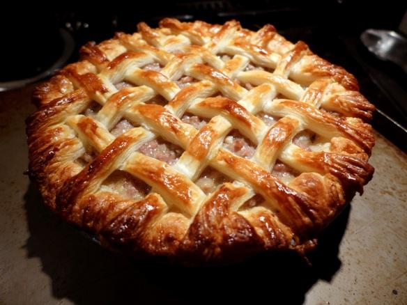 Image of latticed pie