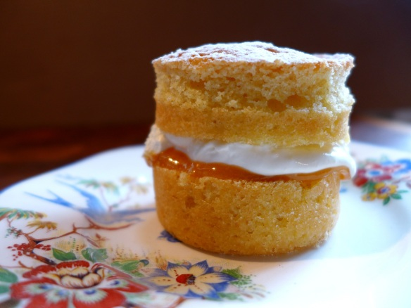 Image of mini Victoria sandwich