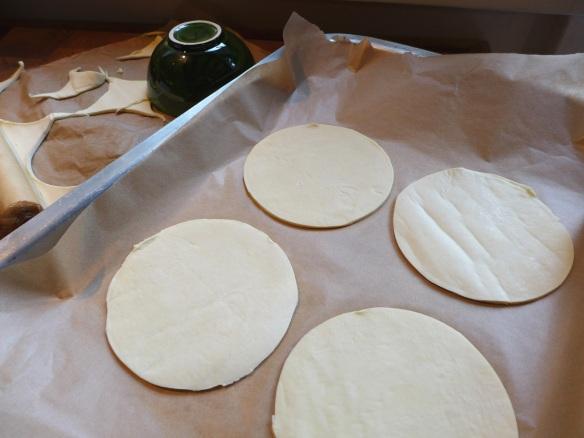 Image of pastry discs