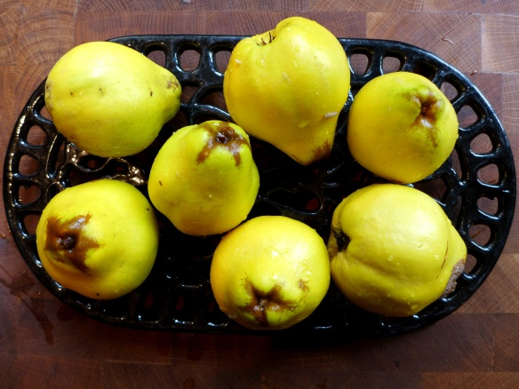 Image of raw quinces