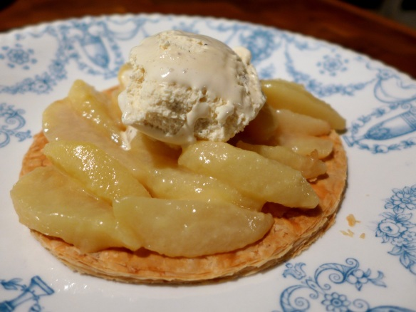 Image of pear galette