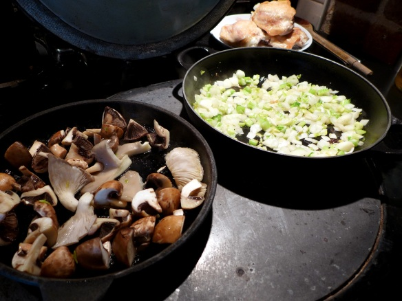 Image of vegetables cooking